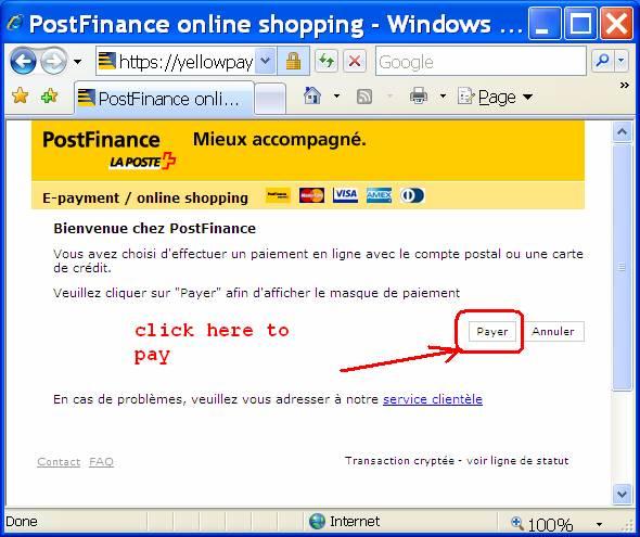 electronic money bank instructions